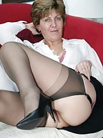 mature woman first time anal